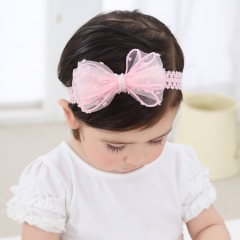 RONI 2018 Twisted bow baby elastic hair band 01