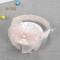 RONI Baby girl shining stars bowknot  hair bands. 02