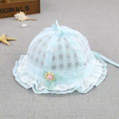 RONI Lace Floret princess hat, summer thin female baby  sunshade cap 01 all code