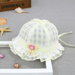 RONI Lace Floret princess hat, summer thin female baby  sunshade cap 02 all code