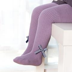 RONI Spring children's pantyhose bow vertical striped girls 'pantyhose 01 18/20