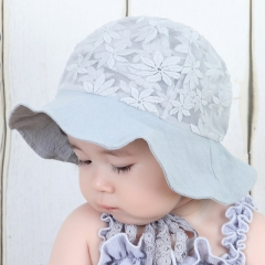 RONI 2018 Summer  new female baby lace sunhat 01 all code