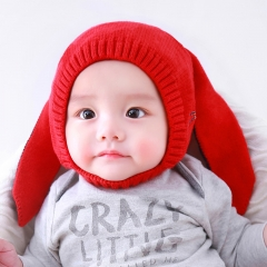 RONI New male and female baby rabbit ear wool hat 01 all code
