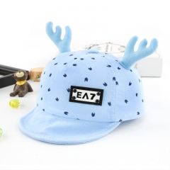 RONI 2018 Spring New Baby Hat Baby Christmas Antler Hat 01