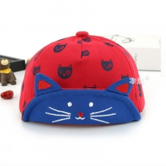 RONI 2018 Spring New Baby  Cotton Hat Baby Cute Kitten Hat 01