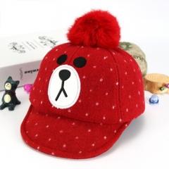 RONI Korean version of the fashion new winter child bear hat 01