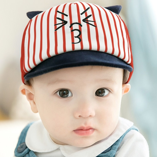 b0cdc8c8fbe RONI Spring new kids cap baseball cap Baby striped cotton hat 01  Product  No  1771370. Item specifics  Brand