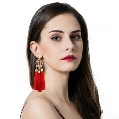 RONI 2018 New national style fashion retro Tassel earrings 01 all code