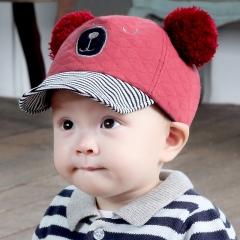 RONI Autumn new cotton hat cute bear cap 01