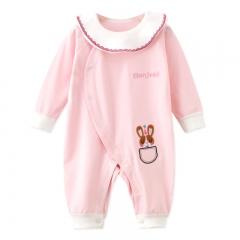 RONI 2018 New Baby girl 100 % Cotton Clothes Newborn jumpsuit boy crawl suit 01 66cm