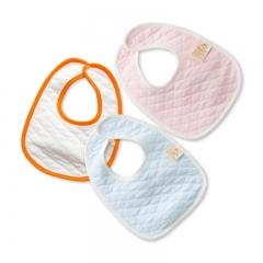 RONI 3pcs baby 100% cotton thin saliva towel baby bib 01 all code