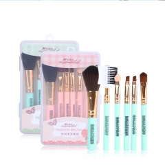 RONI 6pcs Makeup Brush Set Eye shadow brush blush brush eyelash brush Beauty Makeup Tool random