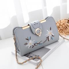 RONI 2018 New women  fashion  oblique bag chain bag lady single-shoulder bag 01 All code