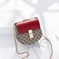RONI 2018 Spring women new fashion casual  bag lady Korean classic printing single-shoulder bag 01 all code