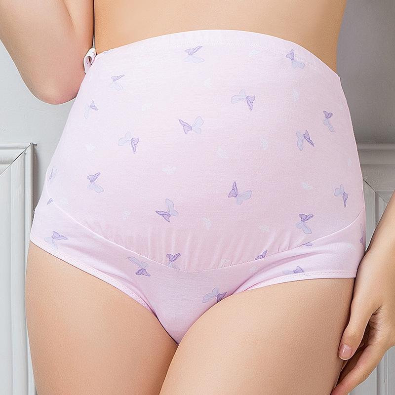 047e0a3921884 RONI 2pcs Pregnant women briefs high waist breathable cotton ...