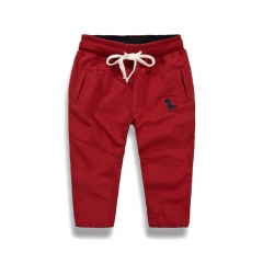 RONI  Autumn baby  boy 100% cotton trousers children pure color casual trousers kids pants 01 90
