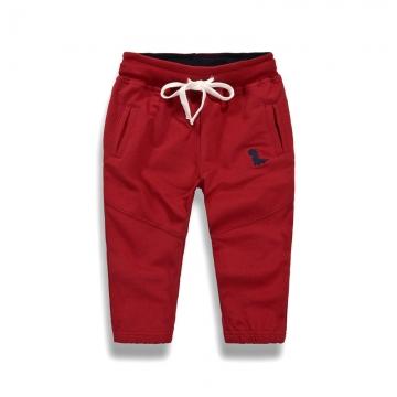 2b07f298c9 RONI Autumn baby boy 100% cotton trousers children pure color casual trousers  kids pants 01