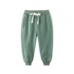 RONI Autumn baby boy 100% cotton trousers children  pure color sports casual pants kids pants 01 110