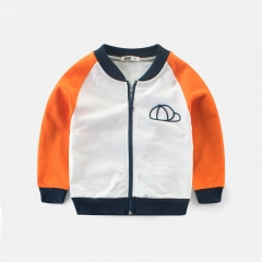 RONI Autumn baby boy 100% cotton jacket children  sports leisure coat kids clothes 01 90