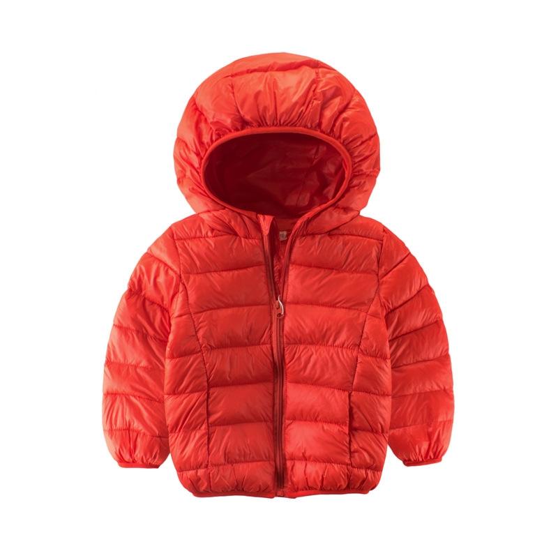 8273f947d RONI Winter baby boy thin cotton clothes children s pure color warm ...