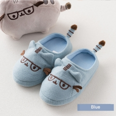 RONI Spring baby  girl cotton soft bottom slippers  boy kids cartoon embroidery home shoes 01 24