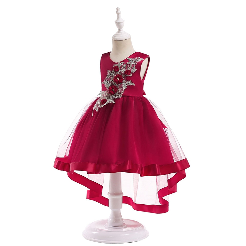 68172db90a Kilimall  RONI Girl Exquisite Princess Dress Flower Girl Lace Dress ...