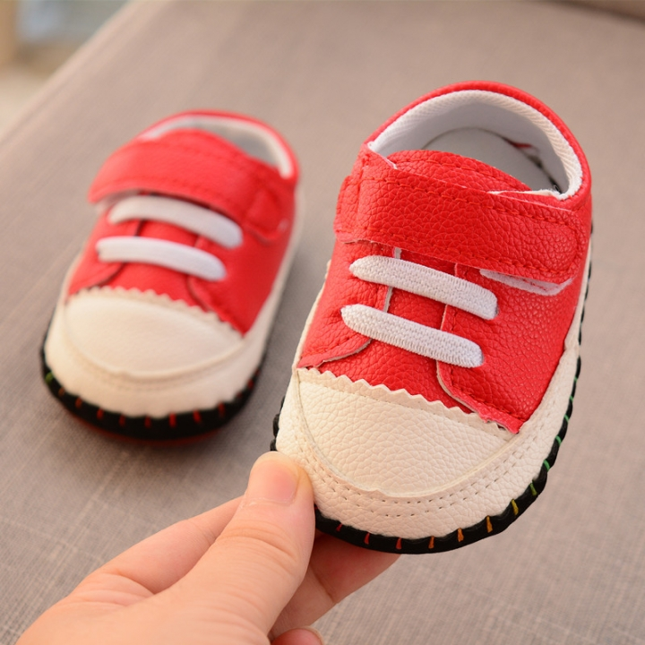 Roni Autumn 0 1 Year Old Baby Boy Walking Shoes Baby Girl Non Skid