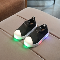 RONI Spring Baby  boy glowing canvas shoes casual shoes girl kids LED flash sneakers 01 21