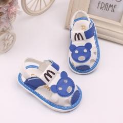 RONI Summer girls kids  sandals baby boy cute bear walking shoes 01 15
