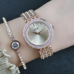 RONI Ladies fashion luxury diamond inlay watch temperament inlay watch band 01 all code