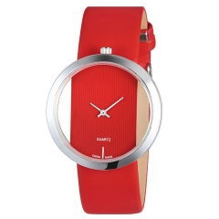 RONI Women's creative hollow design watch student wrist watch business watch lady quartz watch 01 all code