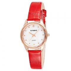 RONI Ladies fashion elegant watch student leather quartz watch business watch fashion accessories 01 all code