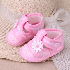 RONI RONI Spring and autumn baby girl non-slip walking shoes  soft-soled shoe 01 12