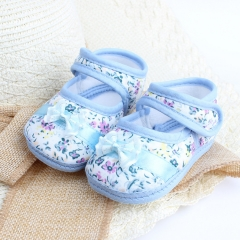 RONI Spring and autumn non-slip baby  walking shoes girl soft-sole shoes princess shoes 02 14