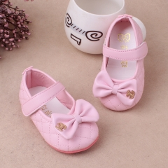 RONI Girl soft-soled shoe Princess shoes  baby  non-skid shoes. 01 18