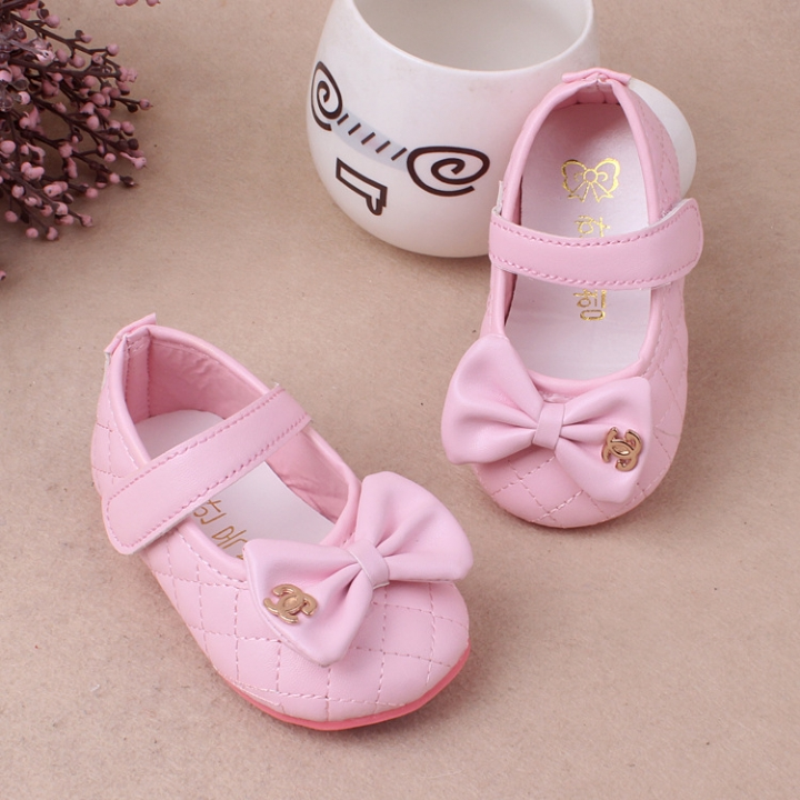 RONI Girl soft-soled shoe Princess shoes  baby  non-skid shoes. 01 15