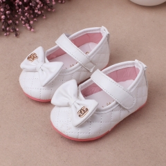 RONI Girl soft-soled shoe Princess shoes  baby  non-skid shoes. 02 18