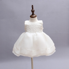 RONI Baby Girl Lace Princess Skirt Flower Girl Dress Kids Wedding Dress Birthday Party Stage Dress 01 3m