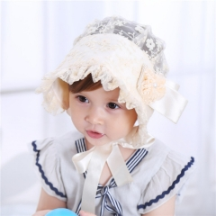 RONI Baby's new summer princess hat, lace gauze sunshade Cap 01 all code