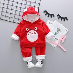 RONI Autumn baby girl warm clothes suit boy kids cute coat+pants two-piece suit 01 80/s