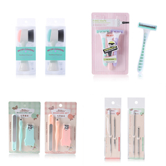 RONI Women  Beauty Suit  Lady  Shaver + Manicure Set + Acne Needle + Washing Brush  Combination Set random