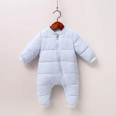 RONI Winter Baby girl cute  warm cotton-padded clothes newborn jumpsuit boy crawl suit 01 80cm