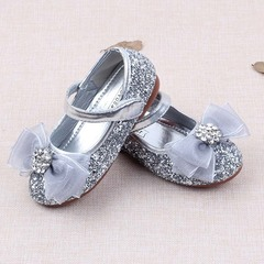 RONI Girls flat soles dress shoes sweet princess shoes kids formal shoes students  perform shoes 01 24