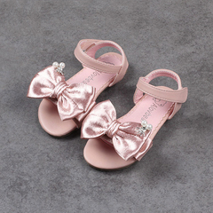 RONI Baby  flat soles dress shoes sweet princess shoes kids formal shoes girl sandals 01 24