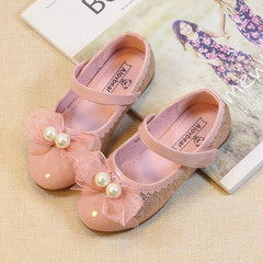 RONI Baby girl dress shoes bowknot pearl princess shoes kids formal shoes student leather shoes 01 26