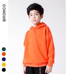 RONI Winter boys fashion thick warm cap coat kids pure color tops 01 110cm