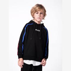 RONI Autumn boys fashion cap coat kids alphabet print tops 01 110cm
