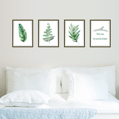 RONI Plant frame wall stickers  bedroom living room background decoration sticker 01 refer to details chart
