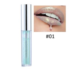 RONI  2018 New mermaid lip gloss dazzling lip gloss glaze 01#