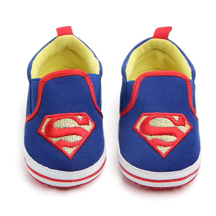 RONI Baby girl walking shoes boy non-skid breathable toddler shoes cartoon canvas shoes 01 12